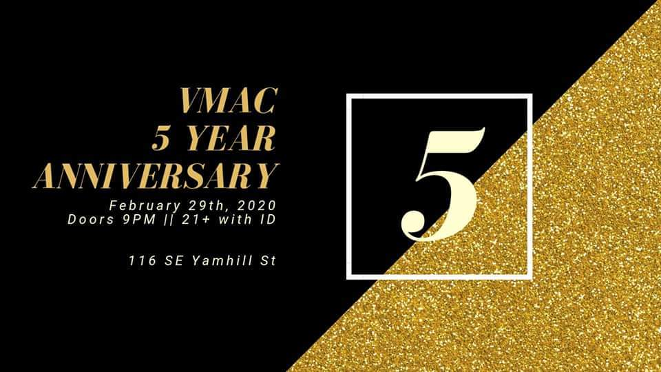 VMAC 5 Year Anniversary Party