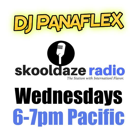 DJ Panaflex on Skooldaze Radio